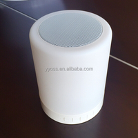Smart Touch Protable Bluetooth LED speaker