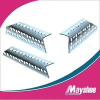 stronge steel slotted angle with hole