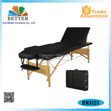 Better wood beauty bed therapeutic massage bed
