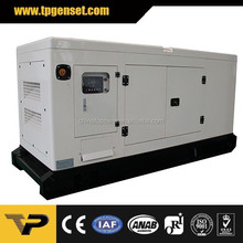 3 phase Soundproof 60Hz low noise 125kw 156kva diesel generator powered by Perkin