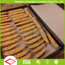 FDA Approved Bakery Supply Greaseproof Oven Safe Colored Baking Parchment Paper with Silicone