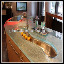 40mm unique table bases for glass dining tops