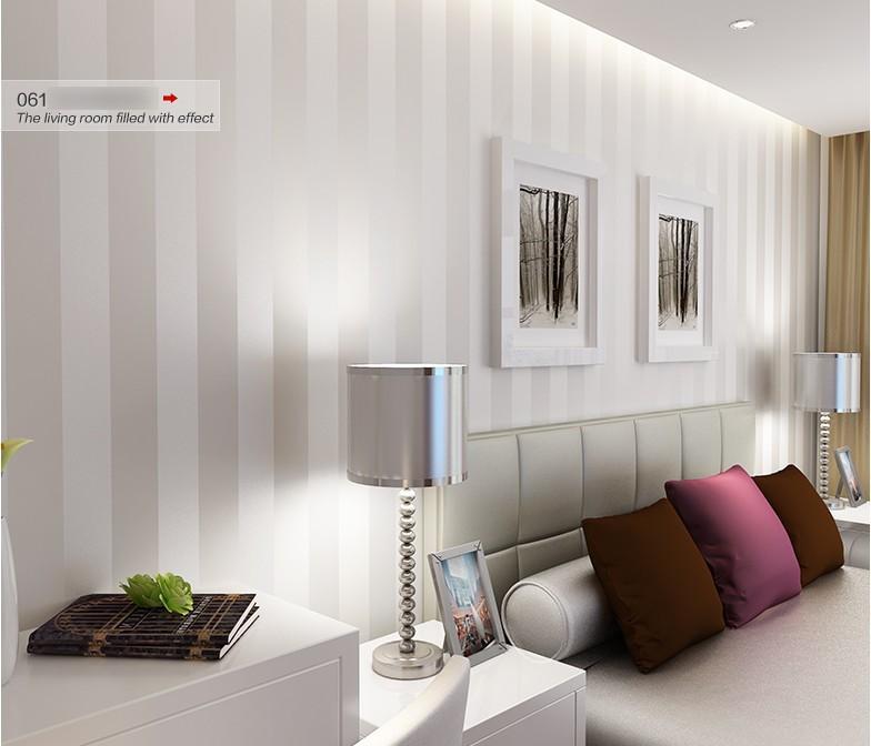 Wohnzimmer Braunes Schlafzimmer Streifen ~ Dekoration Und Interior Design  Als Inspiration Für Sie