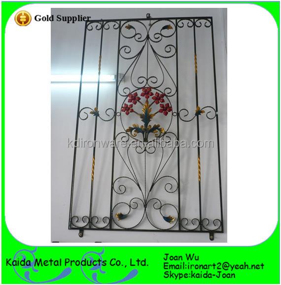 Wrought iron security door joy studio design gallery for Window design ms
