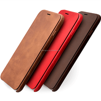 OEM/ODM manufacture smart leather rock case for iphone 5/5s