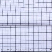 James 100% Cotton Yarn Dyed High Density Wrinkle Free Twill Check/Plaid/Stripe Shirting Fabric