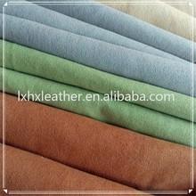Camurça microfibra tecido venda camurça sintética tecidos para calçados DH323