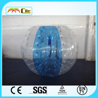 CILE 2015 Factory Direct Sale Newest Customized Inflatable Blue bubble ball for sale