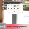 public cell phone charging station hot-selling 10 doors ev charging station