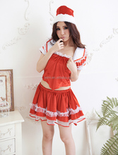 Popular Japanese Girls Sex Costumes Adult Christmas Lingerie Christmas Costume
