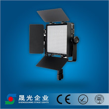 Battery operated powered AC/DC led photo studio light for tv video