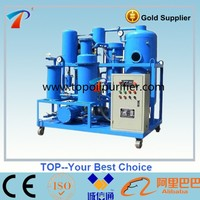 TYA series Used lubricants oil recycling plant Machine for oil quality recovery