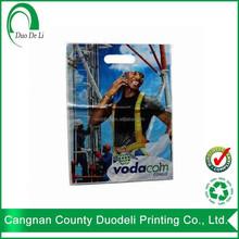 LDPE Die Cut Handle Various Color and Designs plastic bag manufacturer