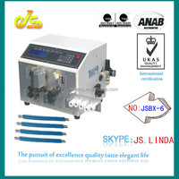 2014 High-speed JSBX-6 fully automatic av input output cable for ipad stripping peeling machine