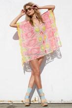 2015 latest custom sublimation print middle aged women lady fashion dress