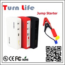 450 peak current New product Mini 12V car battery multi-function jump starter, charging for phone/laptop