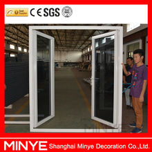 Shanghai factory aluminum French door /cheap house aluminum french doors and windows/used exterior french doors for sale