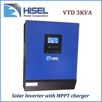 HiSEL lcd off grid solar inverter 2000va 24vdc solar power bank