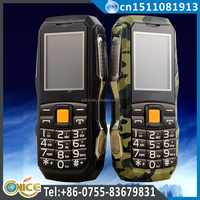 C23 ip57 mobile phone waterproof stock lot mobile phone with vibration gsm 900/1800mhz GPS bluetooth fm recording flashlight GPS