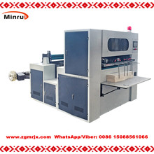 MR-850 High speed Automatic Die cutter for cutting roll paper cup fan machine trade assurance