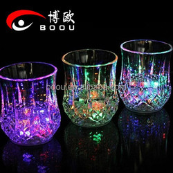 Wedding Wholesale led shot glass with different led color