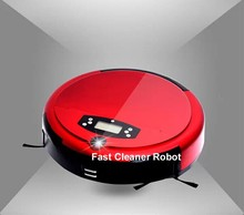2015 Newest wet and dry mopping robotic vacuum cleaner with voice function
