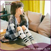 Cartoon panda children long hot child tube sock