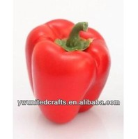 artificial fruit faux mini red pepper fake food