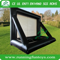 Outdoor Small Advertising Digital Video Display Inflatable Projector Screens