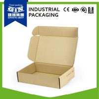 Customized pizza paper packaging box for electronic product