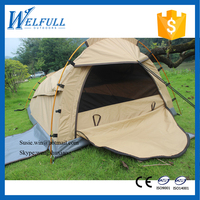 Waterproof Outdoors Luxury Two Person Canvas Camping Tent for sale