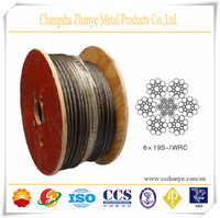 6x19S-FC Flexible EIPS grade wire rope for oil pipe