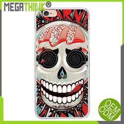 Custom Japanese designer Skull Skeleton TPU case for iPhone 6 5s 4s case image print