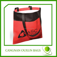 Suitable for shop Non woven fashion cheap shopping bag