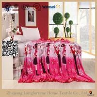 buy direct from mexico wholesaler fleece blanket NZW082