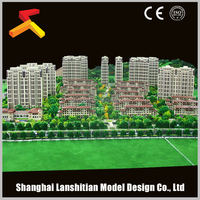 china supplier architectural sand table model ,miniature scale model