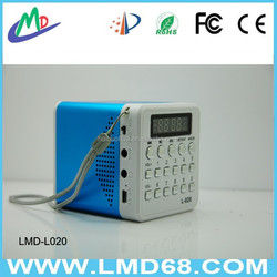 MP3 Player Music Speaker Aluminium Sound Box L-020