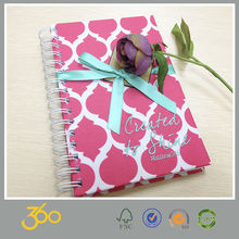 fabric covered notebook printing, best price spiral notebook wholesale