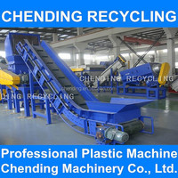 CHENDING PP PE plastic film bags recycling machine washing line