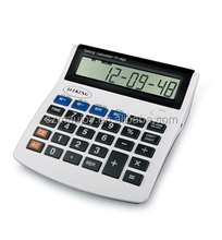 Big button talking calculator with time and date annoucement