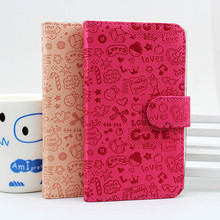 High quality!!! mobile phone cover for nokia x2-01 leather flip case