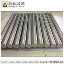 Manufacturer mass of tungsten bar