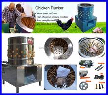 Stainless steel barrel poultry plucker/chicken plucker
