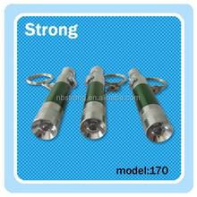 green LED Mini Keychain Flashlight with 4*LR41