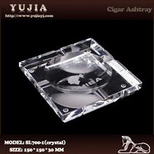 De alta- final k9 cenicero de cristal de puros cohiba cenicero cenicero cenicero de mesa grande ceniceros de cristal