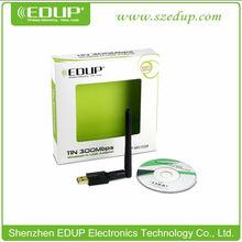 High Speed 300Mbps External Network Card Realtek USB WiFi Module