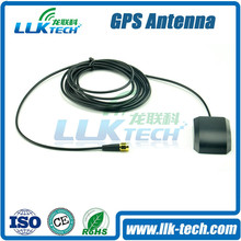 [OEM]High Gain Active gps antenna with customized cable and Connector