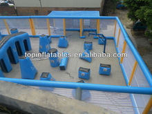 2015 airtight inflatable paintball arena