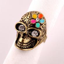 Top quality wedding ring, Skull Skeleton Ring for child