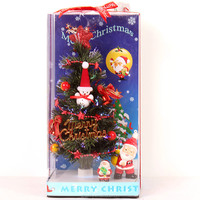 Battery Table Artifical Fiber Optic Christmas Tree With Top Star